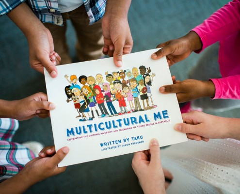 Multicultural Me Book by Taku