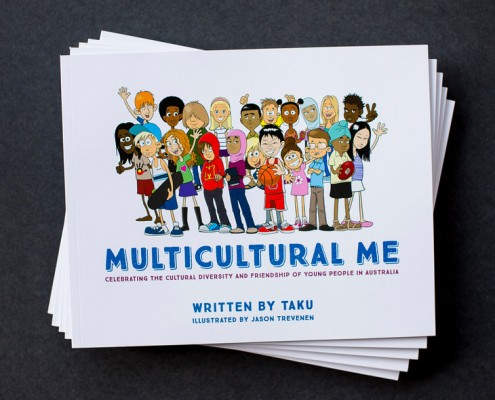 Stack of Multicultural Me_Buy books