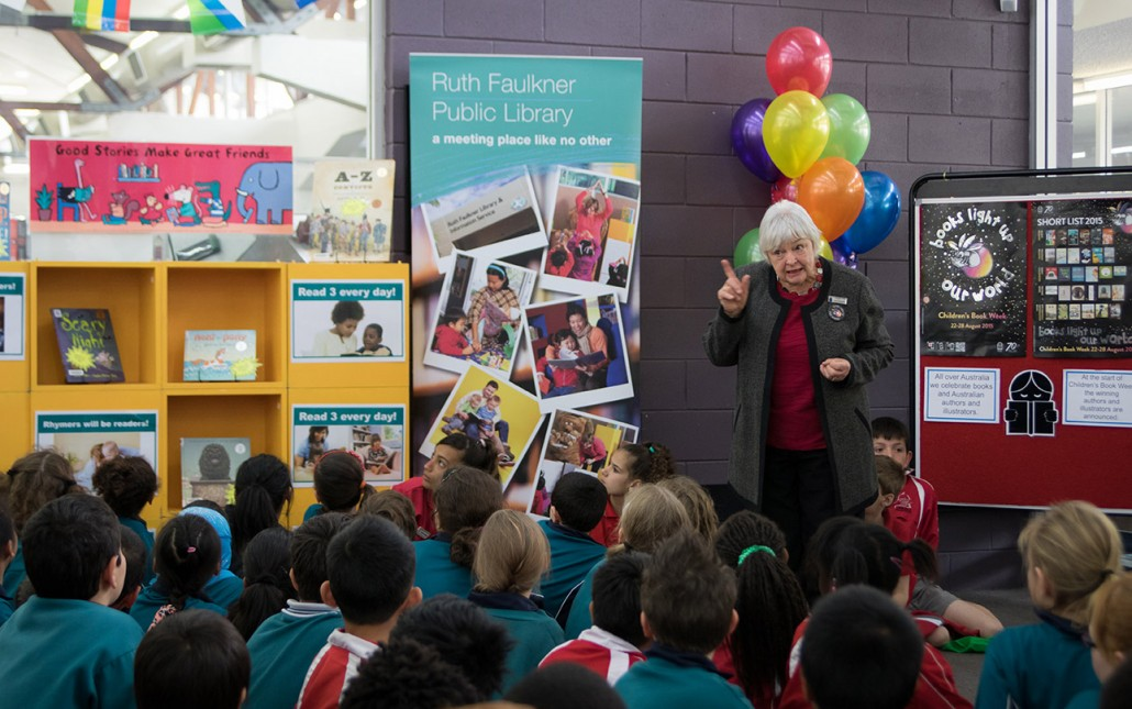 Launch during Children's Book Week Australia CBCA