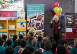 Launch during Children's Book Week Australia CBCA
