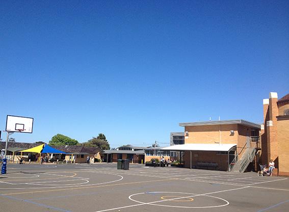 St Joseph's School Playground Melbourne