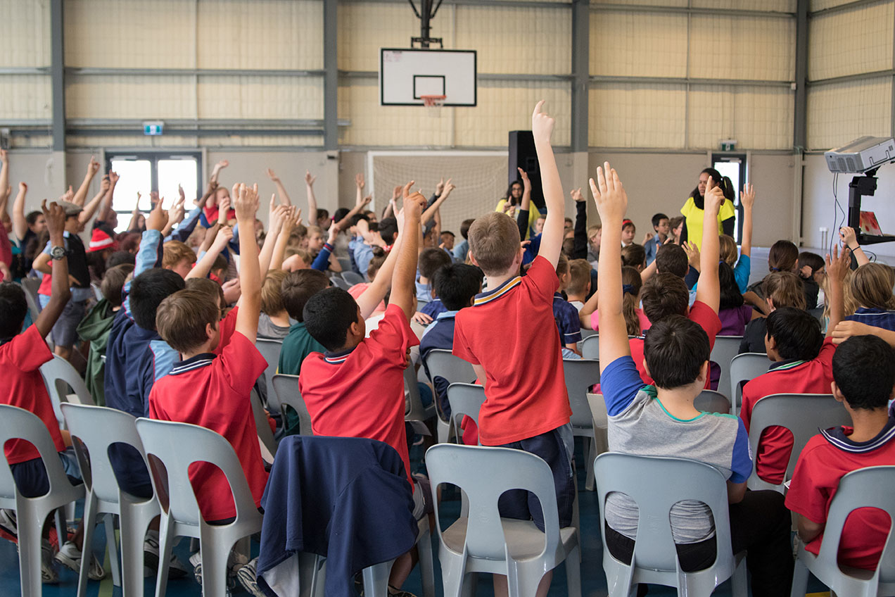 Thornlie Primary School Volunteers for Public Speaking