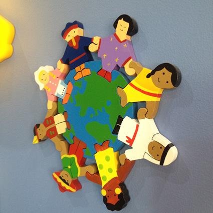 Wall art_Kool Kidz Child Care Melbourne_Multicultural Me blog