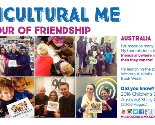 Multicultural Me World Tour Australia