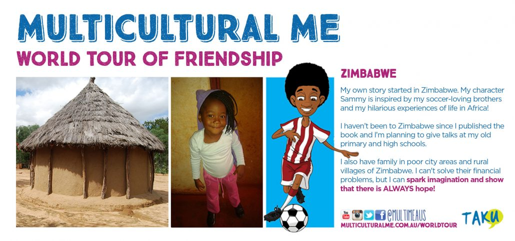 Multicultural Me World Tour Zimbabwe