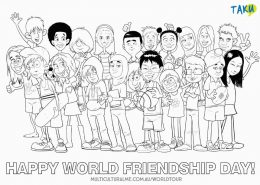 World Tour Friendship Colouring Page_low res