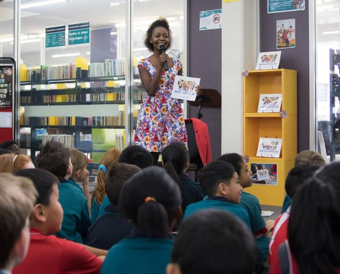 Cloverdale and Carlisle Primary School Talks Library