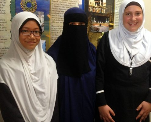 Friends at the Australian Islamic College