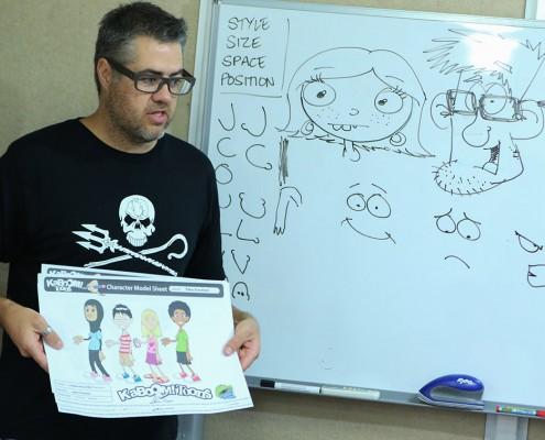 Jason cartoon workshop