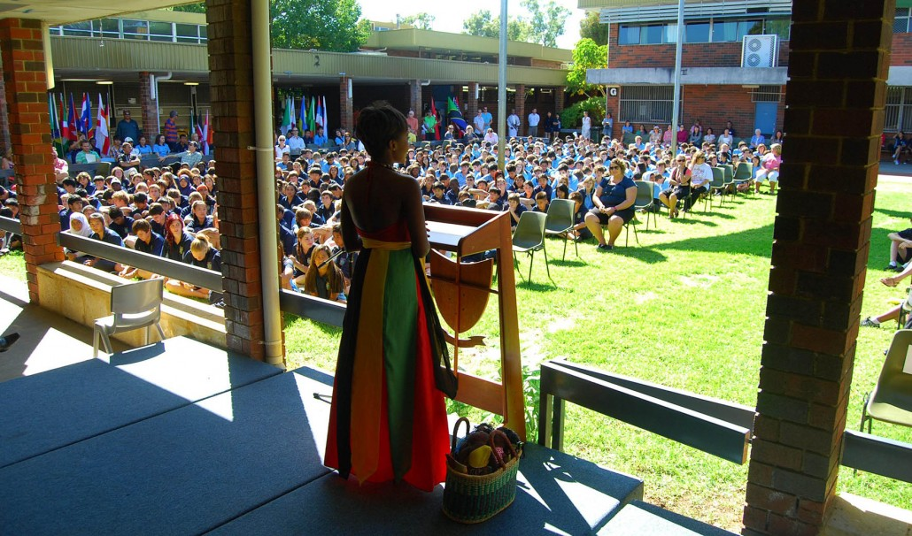 Harmony Day Taku School Talks Australia